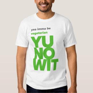Imma Be Vegeterian - YUNOWIT T-shirts
