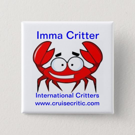 Imma Critter Button