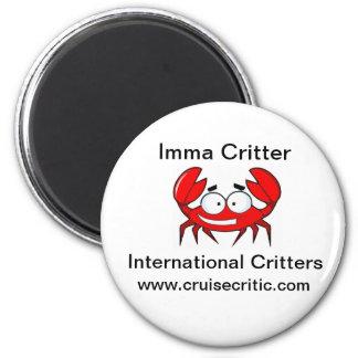 Imma Critter Magnet