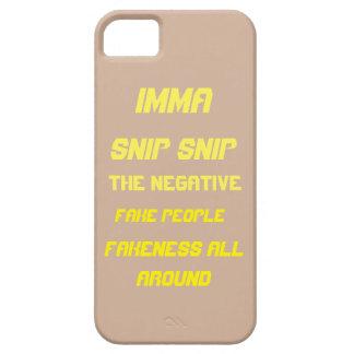 IMMA SNIP SNIP DEE BREEZY CASE iPhone 5 CASE