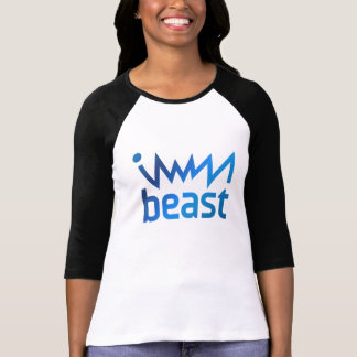 immaBEAST blue T-Shirt