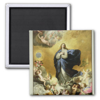 Immaculate Conception, 1635 2 Inch Square Magnet