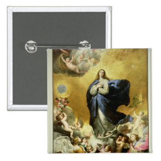Immaculate Conception, 1635 Pinback Button