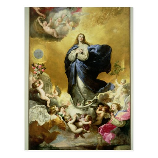 Immaculate Conception, 1635 Post Card