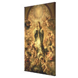 Immaculate Conception, 1670-1672 Canvas Print