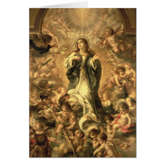 Immaculate Conception, 1670-1672 Card