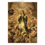 Immaculate Conception, 1670-1672 Greeting Card