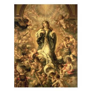 Immaculate Conception, 1670-1672 Postcard