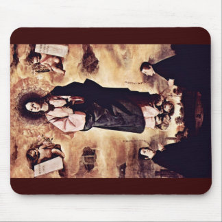 Immaculate Conception, And Two Priests Mousepad