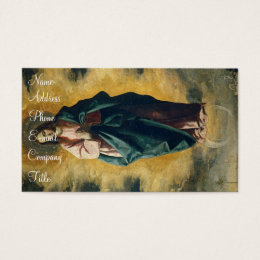 'Immaculate Conception' Business Card