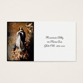 Immaculate Conception Business Card