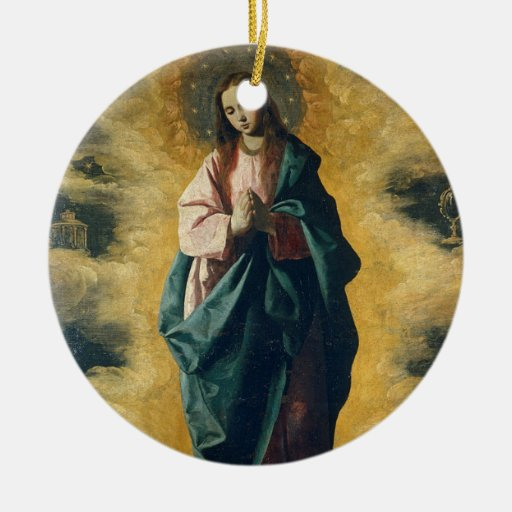 'Immaculate Conception' Ceramic Ornament