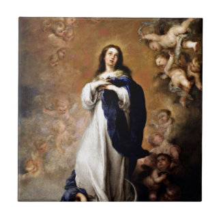 Immaculate Conception Ceramic Tile