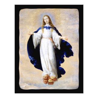 Immaculate Conception Cloud and Cherub - Zurbaran Flyer