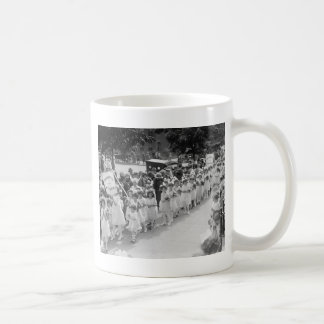 Immaculate Conception, Mary Procession: 1923 Classic White Coffee Mug