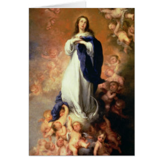 Immaculate Conception of the Escorial, c.1678 Card