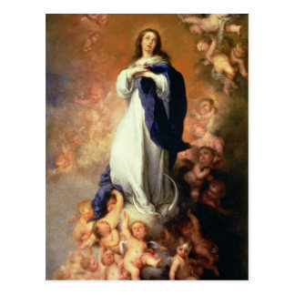 Immaculate Conception of the Escorial, c.1678 Postcard