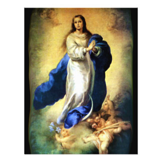 Immaculate Conception of Virgin Mary - Murillo Flyer