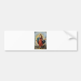 Immaculate Conception - Peter Paul Rubens Bumper Sticker
