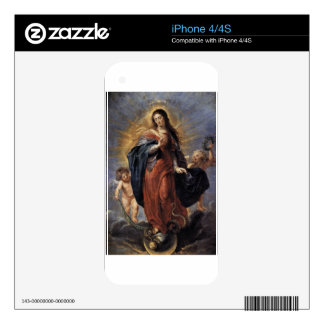 Immaculate Conception - Peter Paul Rubens Decals For The iPhone 4S