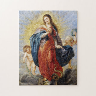 Immaculate Conception Peter Paul Rubens painting Jigsaw Puzzle