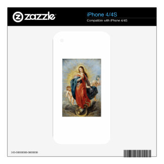 Immaculate Conception - Peter Paul Rubens Skins For The iPhone 4