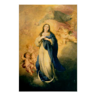 Immaculate Conception Virgin Mary Assumption 02 Poster