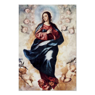 Immaculate Conception Virgin Mary Assumption 03 Poster