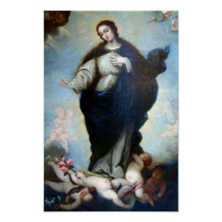 Immaculate Conception Virgin Mary Assumption 05 Poster