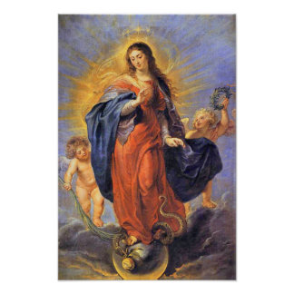 Immaculate Conception Virgin Mary Assumption 06 Poster