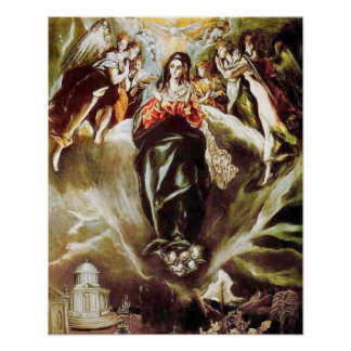 Immaculate Conception Virgin Mary Assumption 09 Poster