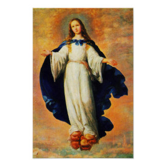 Immaculate Conception Virgin Mary Assumption 10 Poster