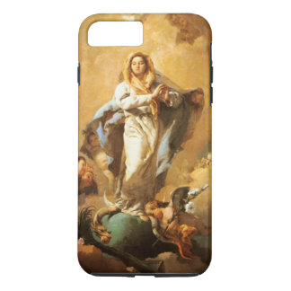 Immaculate Conception with Cherubs - Tiepolo iPhone 8 Plus/7 Plus Case