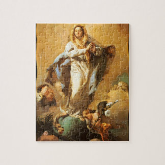Immaculate Conception with Cherubs - Tiepolo Jigsaw Puzzle
