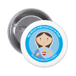 Immaculate Heart of Mary 2 Inch Round Button