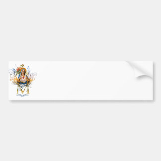 Immaculate Heart of Mary Car Bumper Sticker