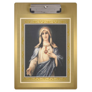 Immaculate Heart of Mary Clipboard