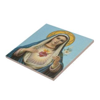 Immaculate Heart of Mary Custom Tile 2