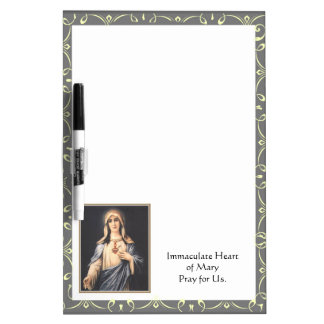 Immaculate Heart of Mary Dry Erase Board
