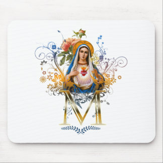 Immaculate Heart of Mary Mouse Pad