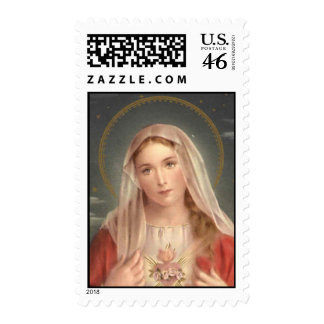 Immaculate Heart of Mary Stamp