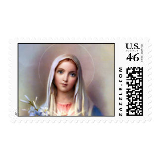 Immaculate heart of Mary postage