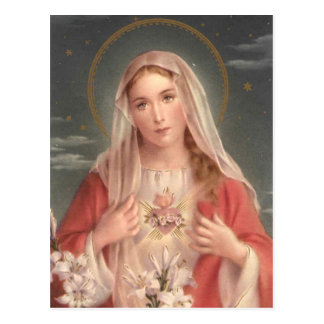Immaculate Heart of Mary Postcards