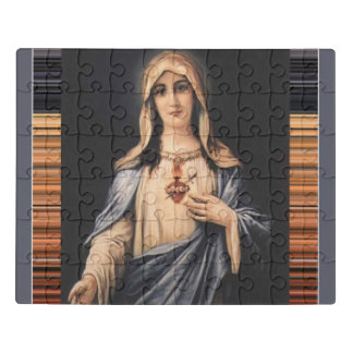 Immaculate Heart of Mary  Sorrowful Mother Jigsaw Puzzle