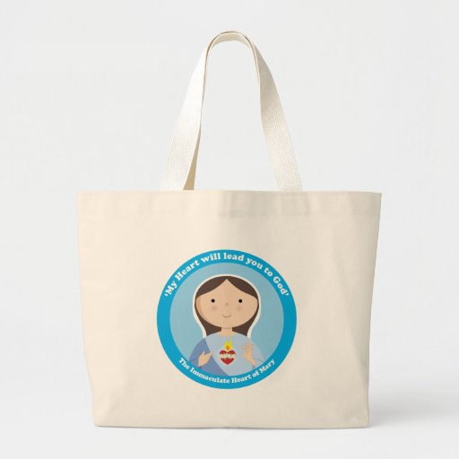 Immaculate Heart of Mary Tote Bag
