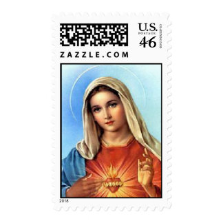 Immaculate Heart Stamp