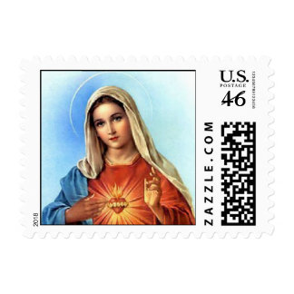 Immaculate Heart Postage Stamp
