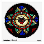 Immaculate Heart (Stained Glass) Wall Decal
