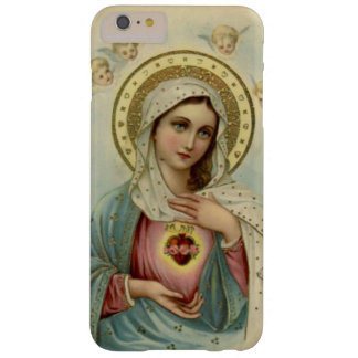 Immaculate Heart Virgin Mary Cherubs Barely There iPhone 6 Plus Case