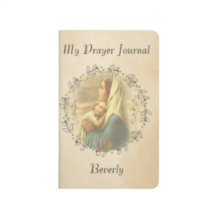 Immaculate Virgin Mary & Baby Jesus Journal